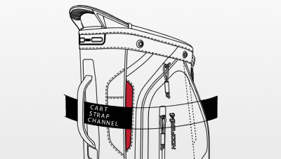 illustration of Hoofer 14 Cart Strap Channel
