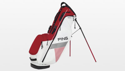 White Red Black Hoofer Lite Carry Bag