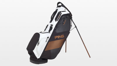 Black White Canyon Copper Hoofer carry bag