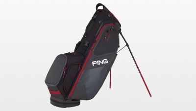 Graphite Red Hoofer carry bag