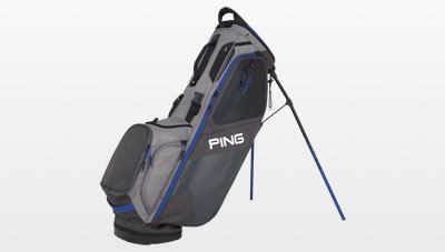 Graphite Silver and Blue Hoofer carry bag