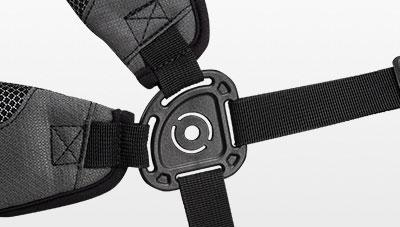 Hoofer carry bag strap connector