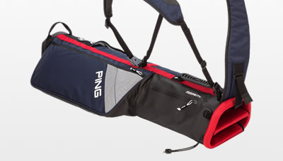 Navy Red and White Moonlite carry bag