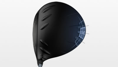 G425 driver illustration showing weighting