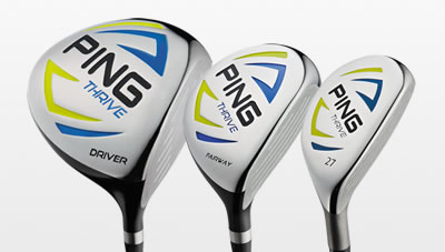 thrive fairway wood set