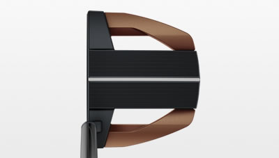 Address view of Heppler Floki putter