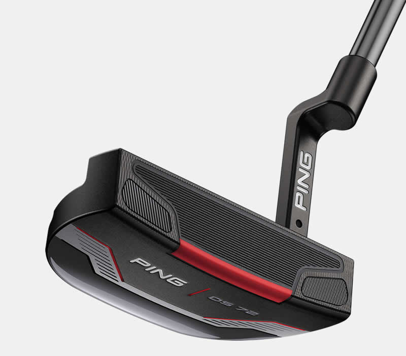 face view of PING 2021 DS 72 putter