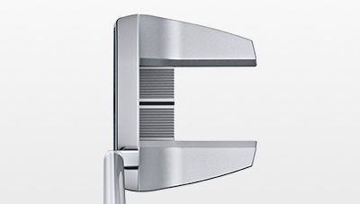 address view of Sigma 2 Tyne 4 Platinum putter