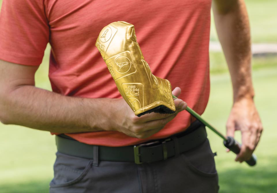 Image of PING Accessories, Gold Vault putter cover