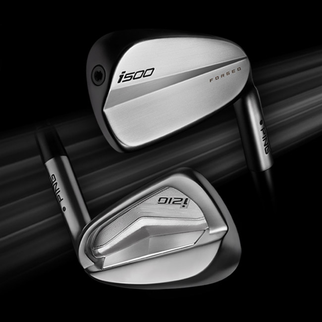 Cavity view of i210 and i500 irons