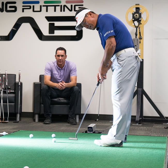 click to read story about K.J. Choi joining PING staff