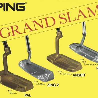 4 Putters Used to Win All 4 Majors in 1988
