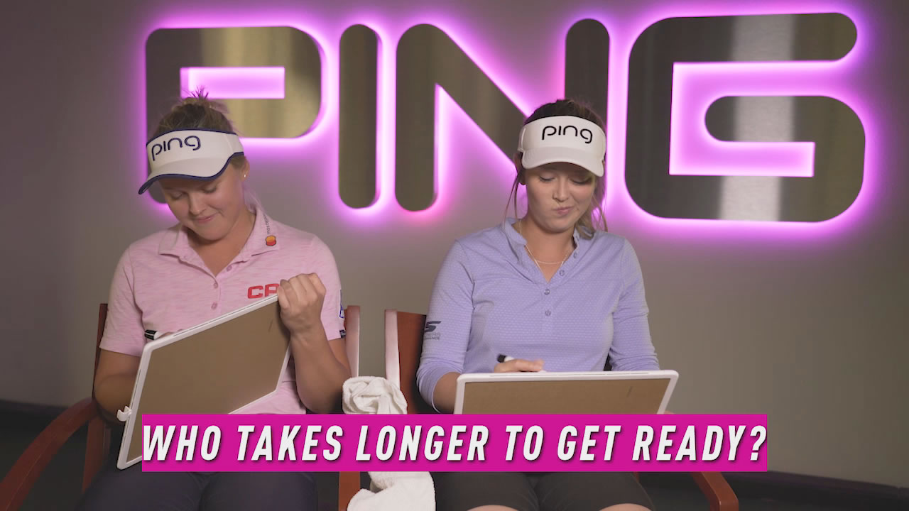 click to watch video of Brooke and Brittany Henderson play a game of Q&A