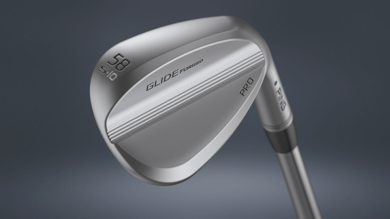 cavity view of Glide Forged Pro wedge
