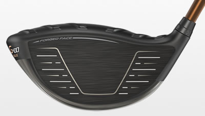 G400 max driver face view