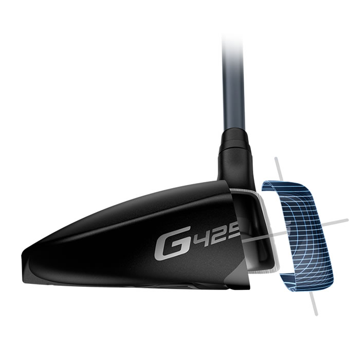 thumbnail of G425 fairway facewrap toe illustration exploded