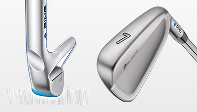 illustration of iBlade sole highlighting the heel area