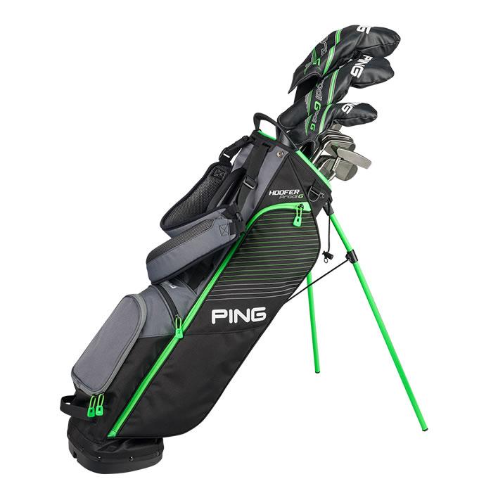 thumbnail of golf bag with Prodi G clubs