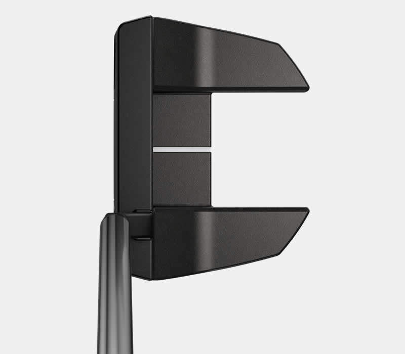 address view of PING 2021 Tyne 4 putter