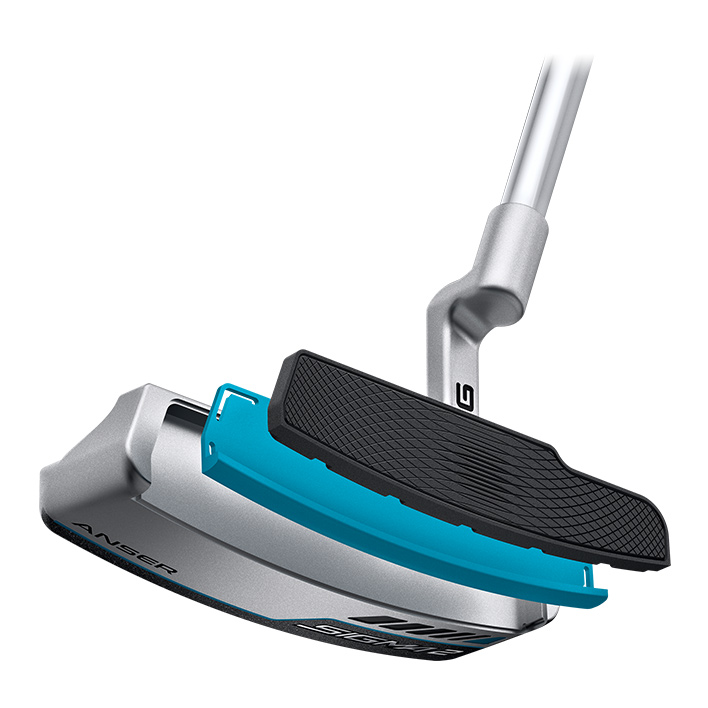 thumbnail of illustration of Sigma 2 putter face exploded to show layers