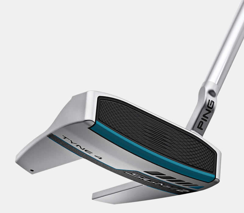 face view of sigma 2 tyne 4 platinum putter