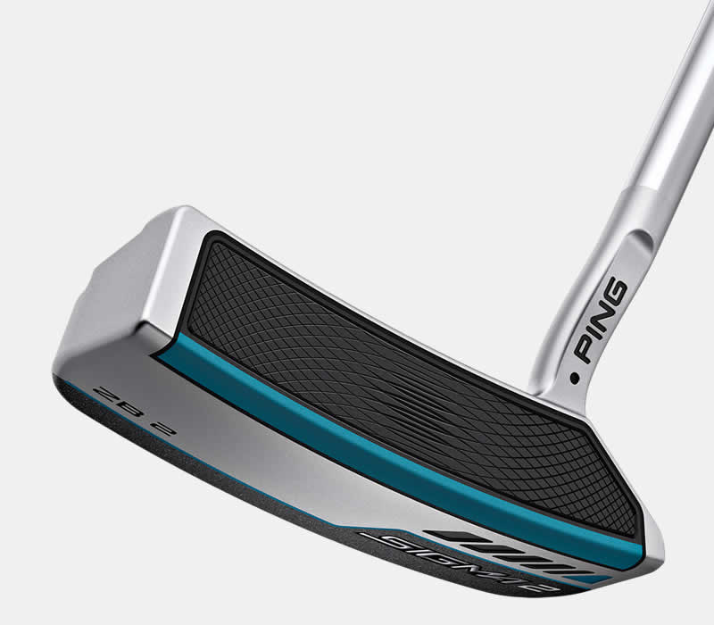 face view of sigma 2 ZB 2 platinum putter