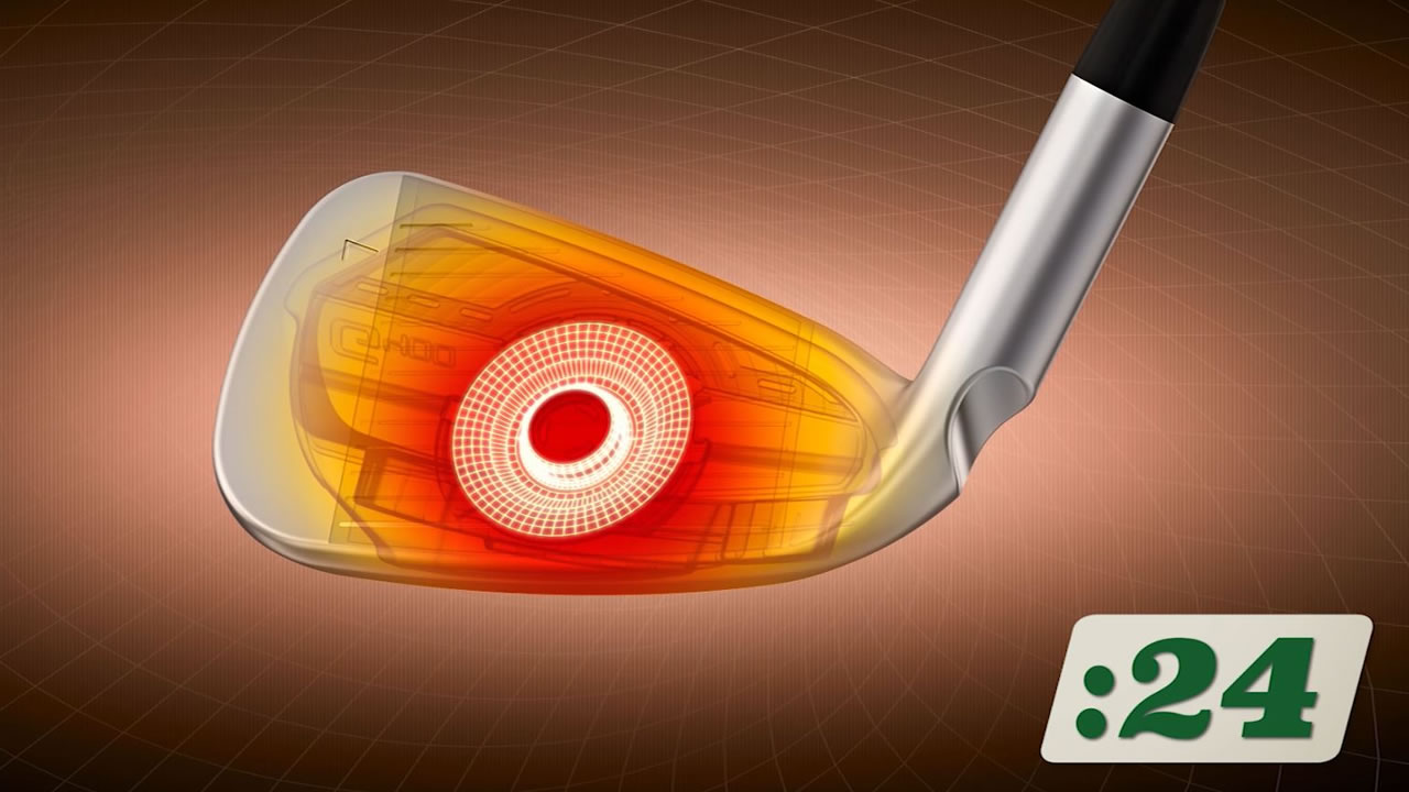 click to view PING pros test G400 iron video