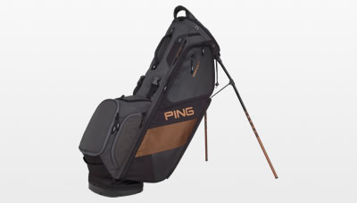 Black White Canyon Copper Hoofer 14 Carry Bag