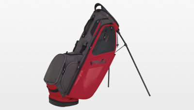 Red Graphite Hoofer 14 Carry Bag