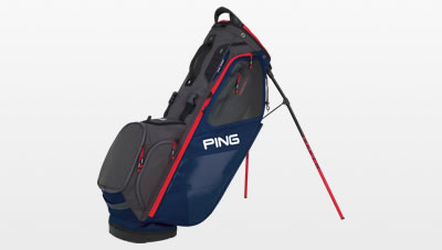 Navy Graphite Red Hoofer 14 Carry Bag