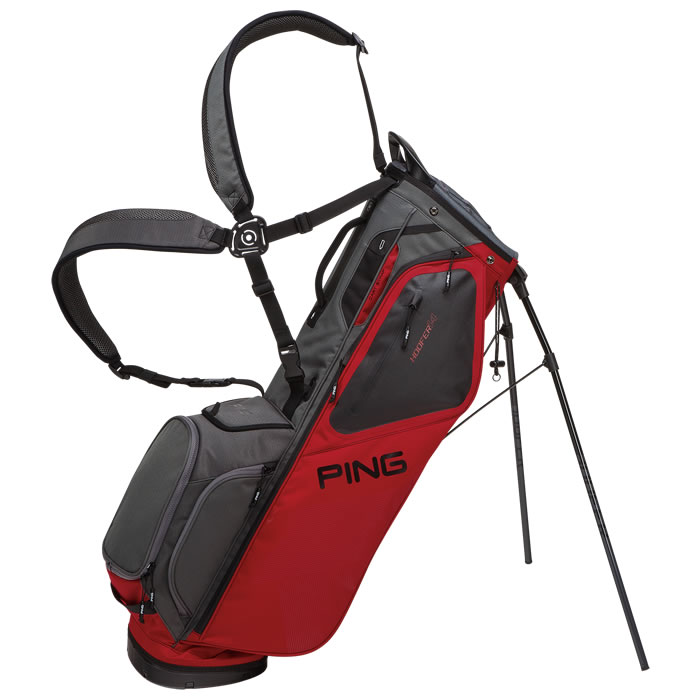 thumbnail of Red Graphite Hoofer 14 Carry Bag