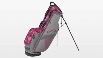 Silver Magenta Bloom Hoofer Lite Carry Bag