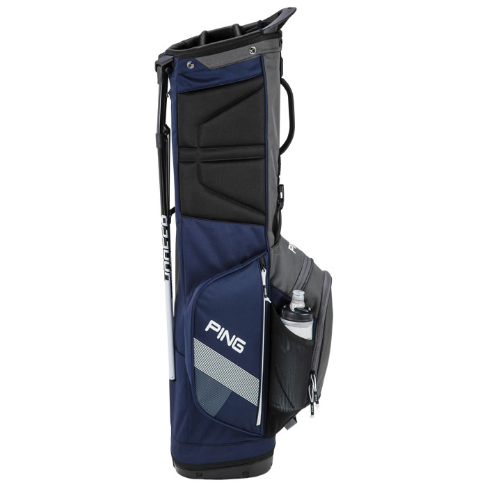 thumbnail of Navy Graphite White Hoofer Lite Carry Bag in upright positions
