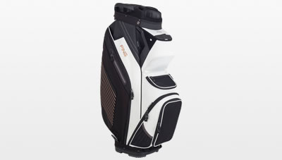 794e8e1794 White Black Canyon Copper Pioneer cart bag