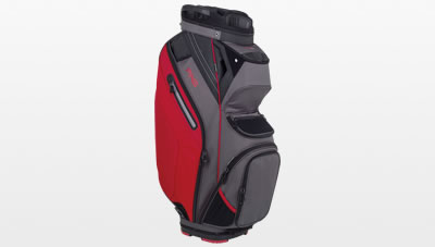 Graphite Red Pioneer cart bag