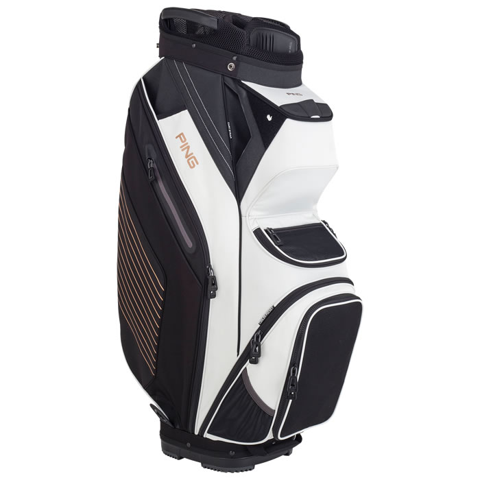 thumbnail of Left side view of Pioneer cart bag