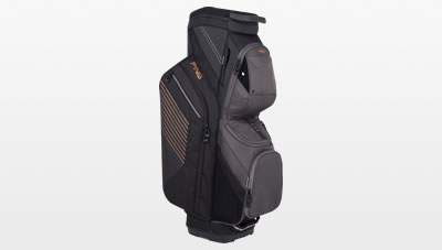 Black Graphite Canyon Copper Traverse Cart Bag