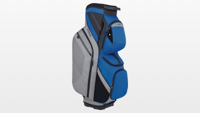 Silver Blue Traverse Cart Bag