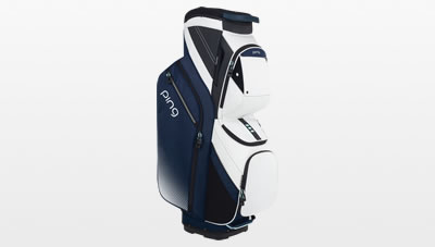 Navy/White/Mint Traverse Cart Bag