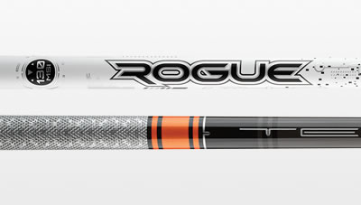 Aldila Rogue and Mitsubishi Tensei shafts