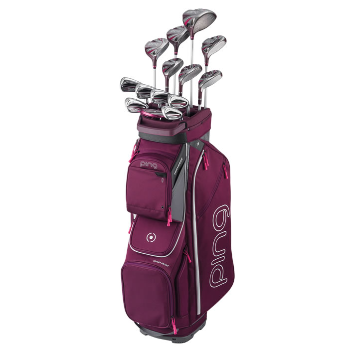 thumbnail of Full set of G Le2 clubs with bag