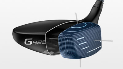 G425 fairway facewrap illustration