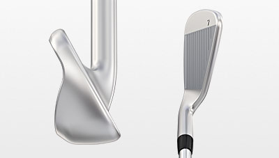 G400 Iron Toe View and Address View