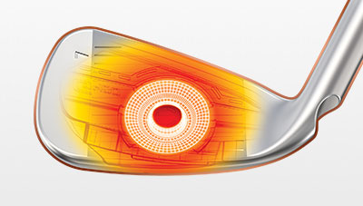 G400 Iron COR-Eye Technology Illustration