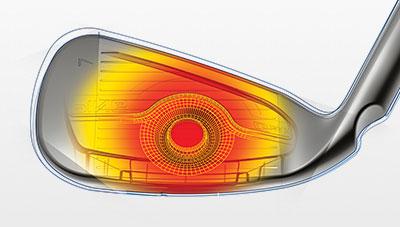 G Max Iron COR-Eye Technology Illustration