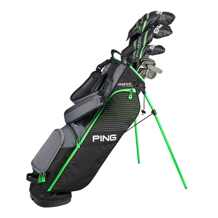thumbnail of golf bag with Prodi G clubs