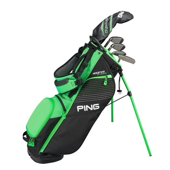 thumbnail of small golf bag with Prodi G clubs