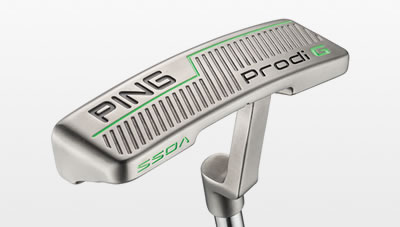 sole view of Prodi G putter
