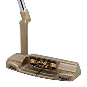cavity view of 50th Anniversary Anser putter