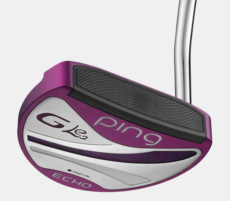 face view of G Le2 Echo putter